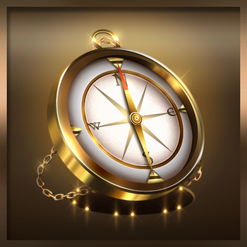 Golden Compass Icon by Seiorai