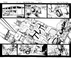 Transformers 29 Double Page Spread by gravyboy