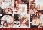 Lily James Icon Pack 1 by divergensea