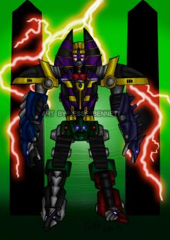 Anubis megazord by blueliberty