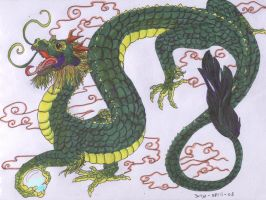 Chinese Dragon by Panimated