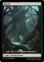 MTG - Altered Fullart Proxy - Bayou by Nedliv