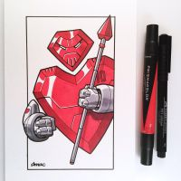 March of Robots Day 10: Heart Guard by D-MAC