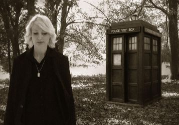 Doctor Who Walk Away (mono) by Prof-Mrs-TheDoctor