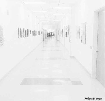 Hospital Hallway by Arsiema