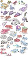 Spider and other Arthropod Pokemon