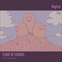 045 EX LEAFGREEN AND FIRERED - Dugtrio