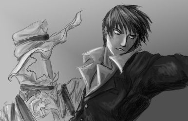 Action Wolfwood by Moon-Bunny-86