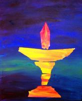 flaming chalice by abaldwin
