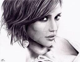 Jessica Alba by Doctor-Pencil