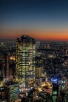 Roppongi Hills Evening by Keith-Killer
