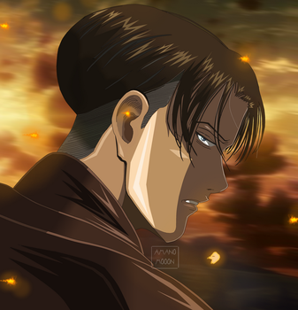 Attack On Titan Chapter 102 Kyojin Levi Ackerman by Amanomoon