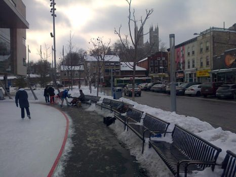 Guelph in winter by 1misio