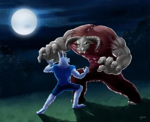 The Beast Among Us Entry by sianic
