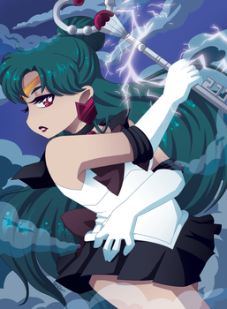 Sailor Pluto by undead-alien