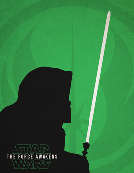Star Wars Episode VII - Luke Skywalker Vector by RyanRitterbusch