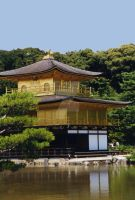 The Golden Pavilion_Borderless by 10000Greetings
