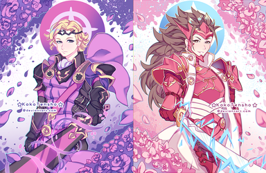 FE: Fates Xander and Ryouma by KokoTensho