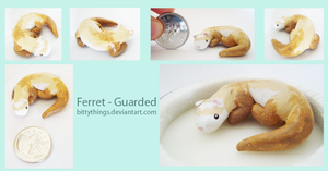 Ferret - Guarded - SOLD by Bittythings