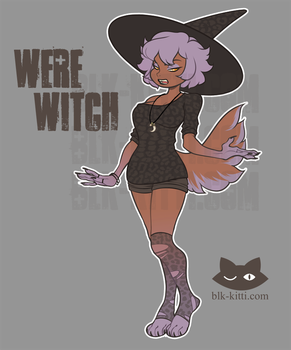 Flat Price Adopt - Were Witch [SOLD] by blk-kitti