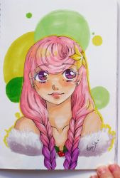 First draw with TOUCHLIT markers by Hana-Star-Neko