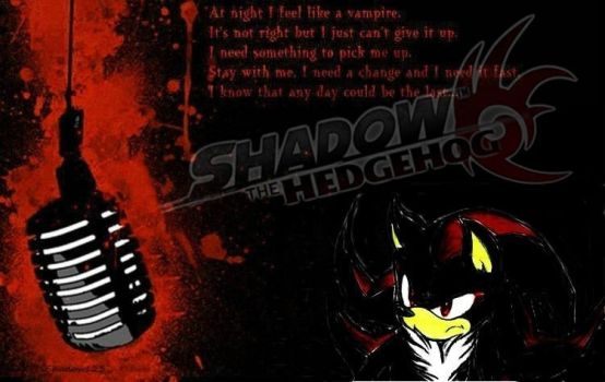 Shadow the hedgehog by xShadow123