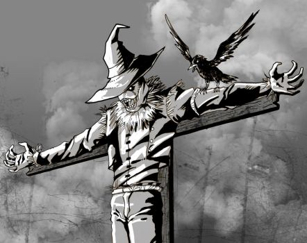Commission: Scarecrow by Santini
