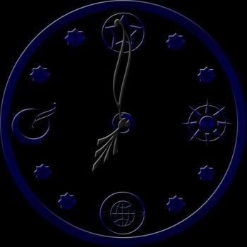 Dark clock by Orbitfreeze