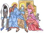 Mark 5:25-34 (Woman with the Issue of Blood) by Parastos
