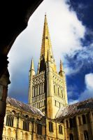 Norwich: dreaming spire by Coigach