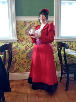 Victorian Valentines tea, 1890's style! by WhimsicalSquidCo