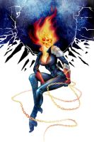 Marvel - Ghost rider by Esk-Phantom