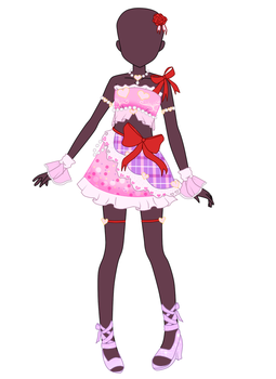 ~Request~ Hearts Day Coord by Luckyshortyboo