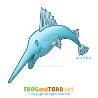 Swordfish Espadon FROGandTOAD by FROG-and-TOAD