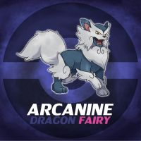 Aozloan Arcanine by ShinyGazza