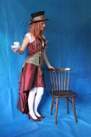 Lady Mad Hatter 7 by mizzd-stock