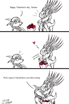 2018 Valentine day: Xenera by Snowfyre