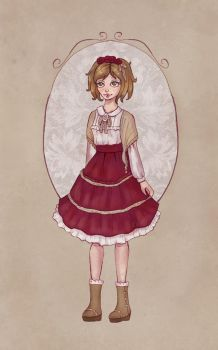 Mori Lolita Outfit by Ninelyn