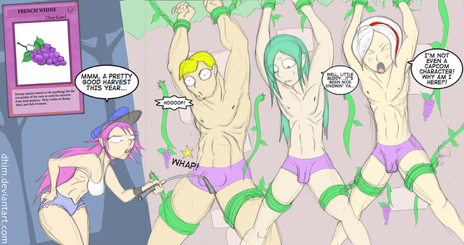 Poison's Vineyard: French Grapes! by dhim