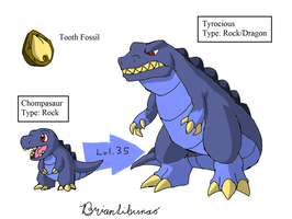 Fakemon: Sharptooth Remake by Brian12