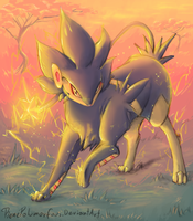 Shiny Luxray by RenePolumorfous