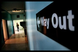 Way Out by greenie
