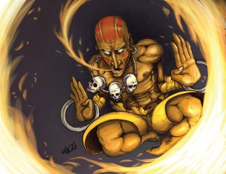 Dhalsim re-post by RehanaKn