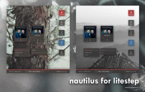 Nautilus for Litestep by cathycatchy