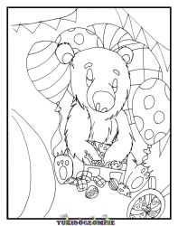 Animal Crackers coloring page by yukidogzombie