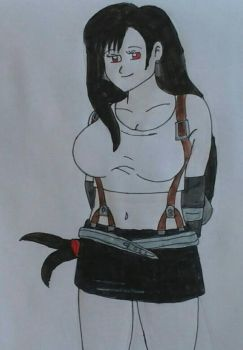 Tifa Lockhart by JQroxks21
