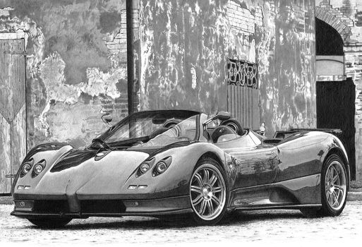 Pagani Zonda by PunkyMeadows
