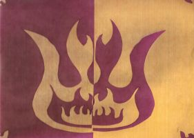 Purple and Yellow Fire by zule-of-fire