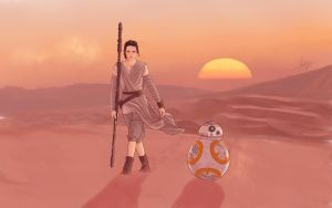 Rey by MargaHG