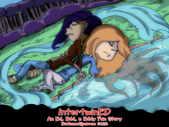IntertwinED - Story Preview Cover by DarkenedSparrow